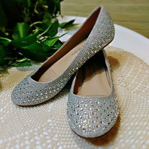 Ultra Sparkle Silver Shoes